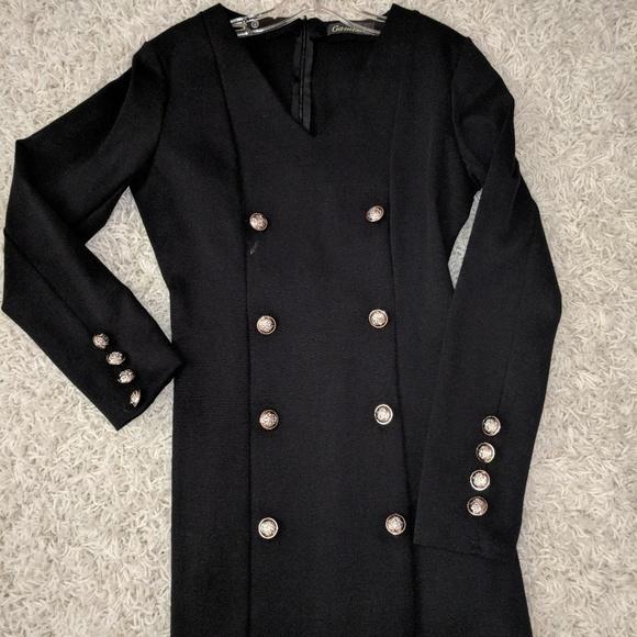 ea8a2292 Gamiss Dresses | Black Long Sleeve Cocktail Dress | Poshmark